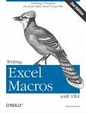 Writing Excel Macros with VBA (eBook, ePUB)