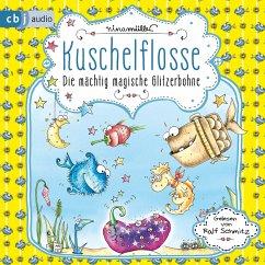 Die mächtig magische Glitzerbohne / Kuschelflosse Bd.4 (MP3-Download) - Müller, Nina