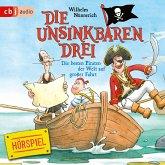 Die Unsinkbaren Drei - Die besten Piraten der Welt auf großer Fahrt (MP3-Download)
