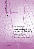 Formation linguistique en contextes d'insertion (eBook, PDF)