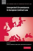 Unexpected Circumstances in European Contract Law (eBook, ePUB)