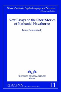 New Essays on the Short Stories of Nathaniel Hawthorne (eBook, PDF)