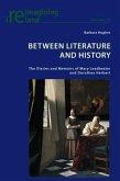 Between Literature and History (eBook, PDF)