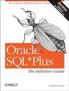 Oracle SQL*Plus: The Definitive Guide (eBook, PDF) - Gennick, Jonathan