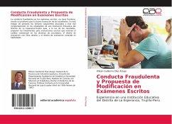 Conducta Fraudulenta y Propuesta de Modificació...