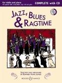 Jazz, Blues & Ragtime (Neuausgabe), m. Audio-CD