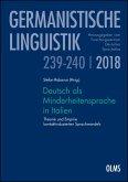 Deutsch als Minderheitensprache in Italien (eBook, PDF)