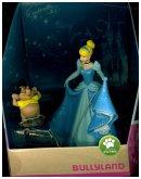 Bullyland 13438 - Walt Disney, Cinderella, Cinderella und Karli, Spielfigurenset, 2-tlg.