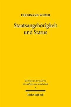 Staatsangehörigkeit und Status - Weber, Ferdinand