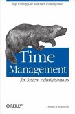 Time Management for System Administrators (eBook, PDF)