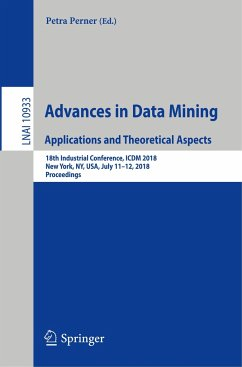 Advances in Data Mining. Applications and Theor...