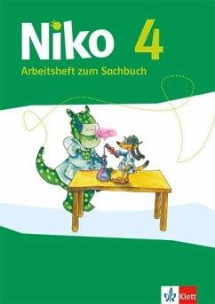 Niko 4. Ausgabe Schleswig-Holstein, Hamburg, Bremen, Nordrhein-Westfalen, Hessen, Rheinland-Pfalz, Saarland - Arbeitsheft zum Sachbuch Klasse 4