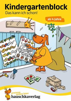 Kindergartenblock - Das kann ich schon! ab 4 Jahre - Maier, Ulrike