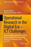 Operational Research in the Digital Era - ICT Challenges