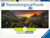 Ravensburger 15094 - Nature Edition, Panorama, Sonne über Island , Puzzle, 1000 Teile