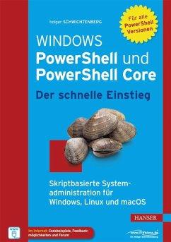 Windows PowerShell und PowerShell Core - Der sc...