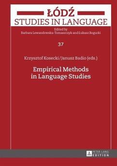 Empirical Methods in Language Studies (eBook, ePUB)