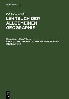Geographie des Meeres - Ozeane und Küsten, Teil 1 (eBook, PDF) - Gierloff-Emden, Hans-Günter