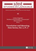 Translation and Meaning. New Series, Vol. 2, Pt. 2 (eBook, ePUB)