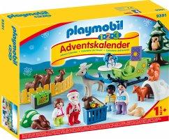 PLAYMOBIL® 1.2.3 9391 Adventskalender