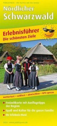 Publicpress Erlebnisfuhrer Nordlicher Schwarzwald Landkarten