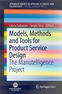 Models, Methods and Tools for Product Service Design