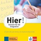 Vorkurs für Zweitschriftlernende, 3 Audio-CDs / Hier! - Deutsch für die Integration