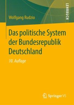 Das politische System der Bundesrepublik Deutschland - Rudzio, Wolfgang
