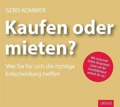 Kaufen oder mieten?, 1 Audio-CD - Kommer, Gerd