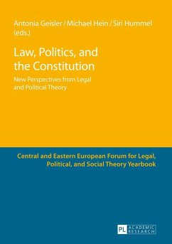 Law, Politics, and the Constitution (eBook, ePUB)