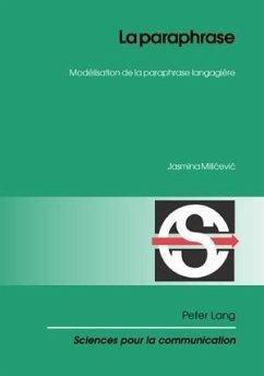 La paraphrase (eBook, PDF) - Milicevic, Jasmina