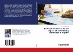 Survivor Responses to the Impact of Downsizing Experience in Nigeria