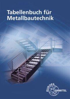 Tabellenbuch für Metallbautechnik - Fehrmann, Michael;Ignatowitz, Eckhard;Köhler, Dagmar