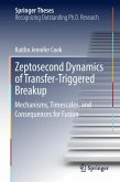 Zeptosecond Dynamics of Transfer-Triggered Breakup
