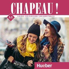 Chapeau ! A1 - Kurs- und Arbeitsbuch Französisch, 2 Audio-CDs - Laudut, Nicole; Patte-Möllmann, Catherine; Ehrhardt, Cathérine