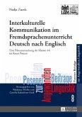 Interkulturelle Kommunikation im Fremdsprachenunterricht Deutsch nach Englisch (eBook, ePUB)
