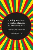 Quality Assurance in Higher Education in Southern Africa (eBook, PDF)