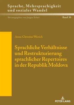 Sprachliche Verhältnisse und Restrukturierung s...