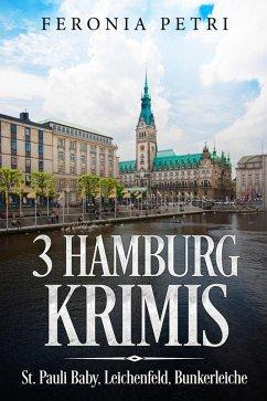 3 Hamburg Krimis (eBook, ePUB)
