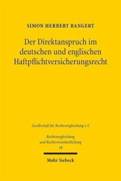 Der Direktanspruch im deutschen und englischen ...