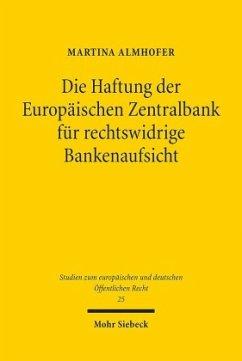 Die Haftung der Europäischen Zentralbank für re...