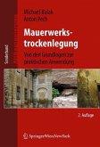 Mauerwerkstrockenlegung (eBook, PDF)