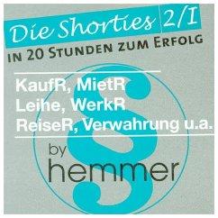 Vertragliches Schuldrecht. Shorties Box 2/1 - Hemmer, Karl-Edmund; Wüst, Achim
