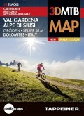 Mountainbike-Karte Gröden / Seiser Alm; Dolomites, Italy, Mountain Bike Map