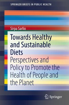 Towards Healthy and Sustainable Diets (eBook, PDF) - Sarlio, Sirpa