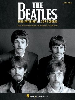 Songs With Just 3 Or 4 Chords, Guitar & Vocal - The Beatles