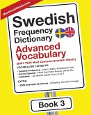 Swedish Frequency Dictionary - Advanced Vocabulary