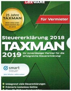 Taxman 2019 für Vermieter, 1 CD-ROM