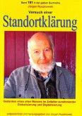 Versuch einer Standortklärung - Gedanken eines alten Mannes im Zeitalter zunehmender Globalisierung und Digitalisierung (eBook, ePUB)