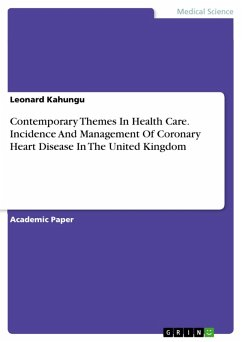 Contemporary Themes In Health Care. Incidence A...